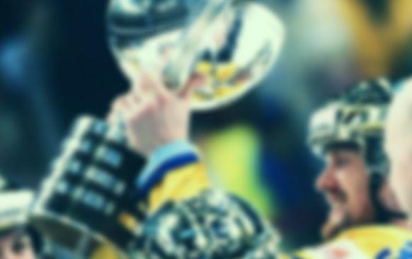Hockey VM Sverige och guldbucklan