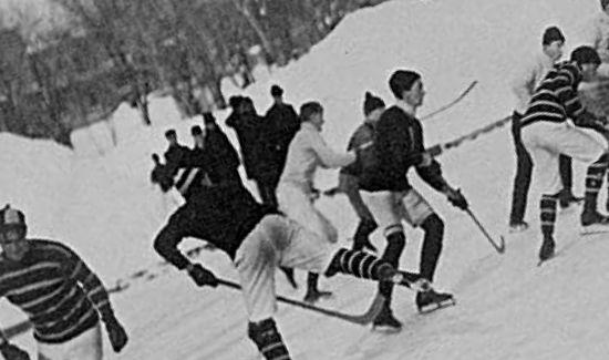 Hockey i Montreal under 1800-talet
