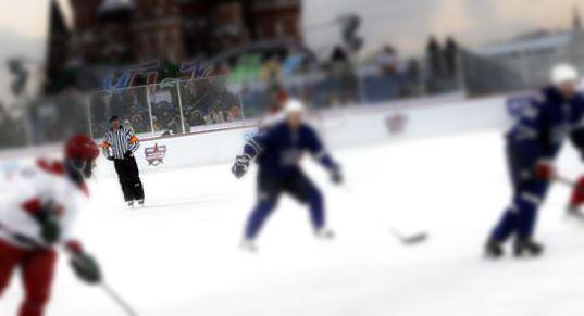 Utomhusrink i KHL Ryssland