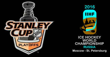 Stanley Cup och World Cup logos